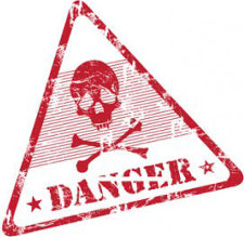 Danger Red Triangle
