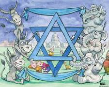 donkeys and elephants for Israel 225
