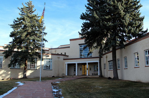 Hoping Justice Prevails - New Mexico Supreme Court Building in Santa Fe